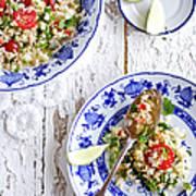 Couscous Salad Art Print