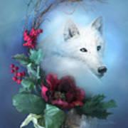 Crescent Wild Winter Solstice Art Print