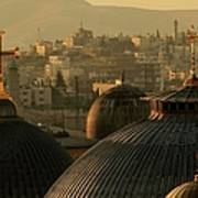 Crosses And Domes In The Holy City Of Art Print