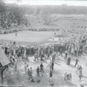 Crowd Watching Bobby Jones During Golf Art Print