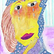 Crying Diamonds Art Print