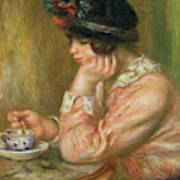Cup Of Chocolate, 1914  Art Print