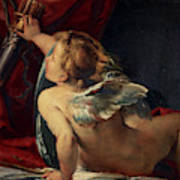 Cupid, 1620 Art Print