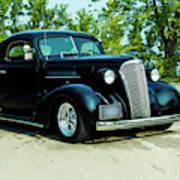 Custom 1937 Chevrolet Coupe Art Print