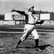 Cy Young Boston Wind Up Art Print