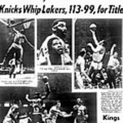 Daily News Back Page Dated May 9, 1970 Art Print