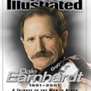 Dale Earnhardt, 1951 - 2001 A Tribute To The Man In Black Sports Illustrated Cover Art Print