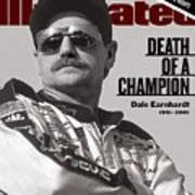 Dale Earnhardt, 1993 Hooters 500 Sports Illustrated Cover Art Print