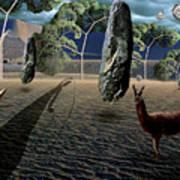 Dali's Llama Art Print