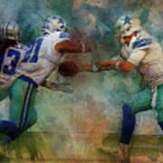 Dallas Cowboys. Art Print