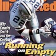 Dallas Cowboys Emmitt Smith... Sports Illustrated Cover Art Print