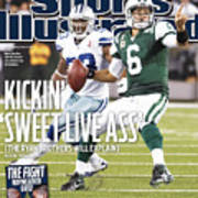 Dallas Cowboys V New York Jets Sports Illustrated Cover Art Print