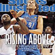 Dallas Mavericks V Miami Heat - Game Six Sports Illustrated Cover Art Print