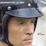 Dan Gurney, 1962 Indy 500 Qualifying Sports Illustrated Cover Art Print