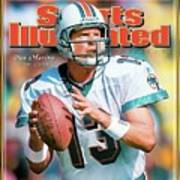 Dan Marino Hall Of Fame Class Of 2005 Sports Illustrated Cover Art Print