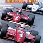 Danny Sullivan, 1985 Indy 500 Sports Illustrated Cover Art Print