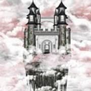 Dark Romantic Castle Art Print