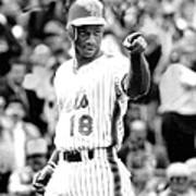 Darryl Strawberry Of The New York Mets Art Print