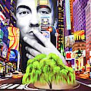 Dave Matthews Dreaming Tree Art Print