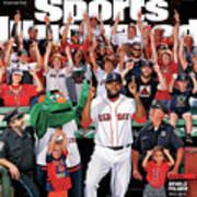 David Ortiz, Designated Editor Before He Retires Big Papi Sports Illustrated Cover Art Print