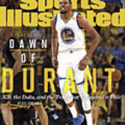 Dawn Of Durant Kd, The Dubs, And The Text That Triggered A Sports Illustrated Cover Art Print