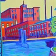Days in the Waterways Art Print