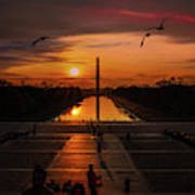 Dc Sunrise Art Print