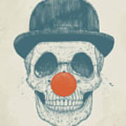 Dead Clown Art Print