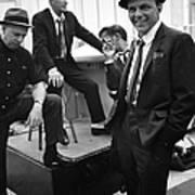 Dean Martinsammy Jr. Davisfrank Sinatra Art Print