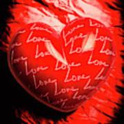 Decorated Romance Art Print