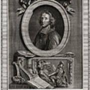 Delamothe Fenelon, 1777. Artist T Cook Art Print