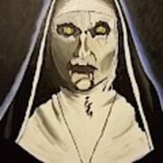 Demon Nun Art Print