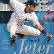 Derek Jeter A Tribute To The Captain Sports Illustrated Cover Art Print