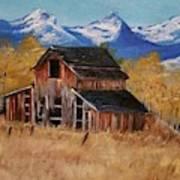 Deserted Barn Art Print