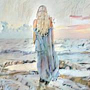 Desolate Or Contemplative Art Print