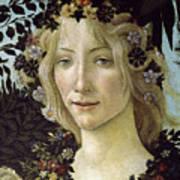 Detail From The Primavera, Circa 1478, Tempera On Panel Art Print