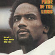 Detroit Lions Billy Sims Sports Illustrated Cover Art Print