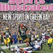 Detroit Lions V Green Bay Packers Sports Illustrated Cover Art Print