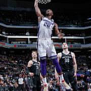 Detroit Pistons V Sacramento Kings Art Print