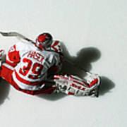 Detroit Red Wings V New York Islanders Art Print