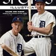 Detroit Tigers Al Kaline And Harvey Kuenn Sports Illustrated Cover Art Print