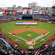 Detroit Tigers V New York Yankees Art Print
