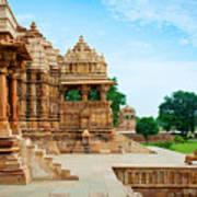 Devi Jagdambi Temple, Dedicated To Art Print