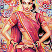Devika Dance Art Print