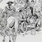 Dick Turpin, Rookwood Art Print