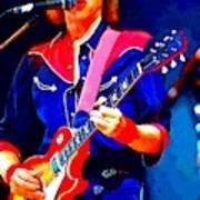 Dire Straits Mark Knopfler Art Print