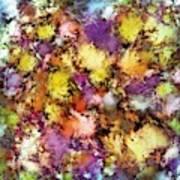 Dismantling The Flowers Art Print