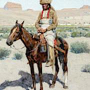 Distant Village, 1890 Art Print