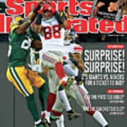 Divisional Playoffs - New York Giants V Green Bay Packers Sports Illustrated Cover Art Print