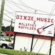 Dixie Music Art Print